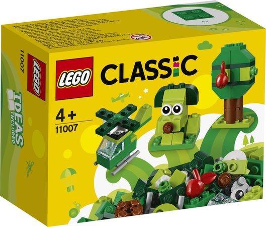 Lego Classic Zelené kreativní kostičky