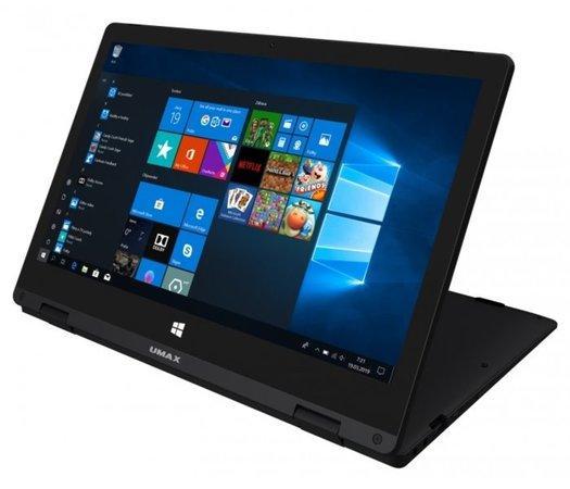 "UMAX tablet PC VisionBook 12Wa Flex/ 2in1/ 11,6"" IPS/ 1920x1080/ 4GB/ 64GB Flash/ micro HDMI/ 2x USB/ W10 Home/ černý, UMM220V12"