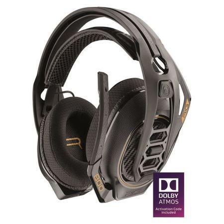 Plantronics RIG 800 PC, DOLBY Atmos bezdrátová herní sluchátka s mikrofonem, černá