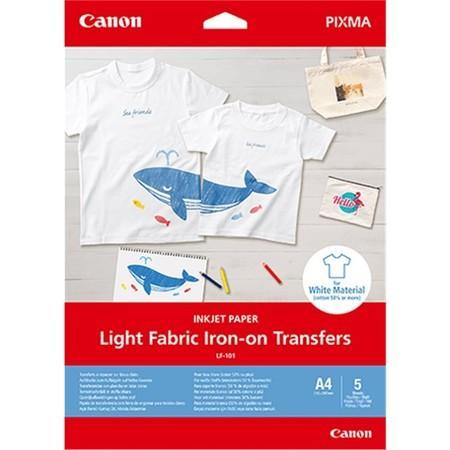 Canon fotopapír LIGHT FABRIC IRON-ON A4, 4004C002