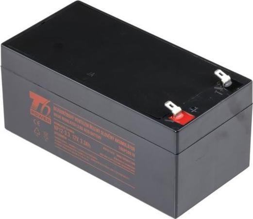 T6 POWER olověný akumulátor NP12-3.3, 12V, 3,3Ah