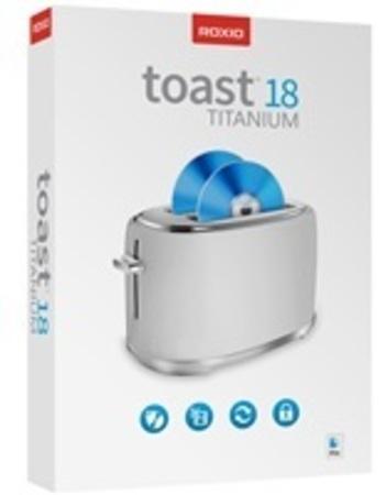 Roxio Toast Titanium 18 ML Mini Box, EN/DE/FR/ES/IT, Box, RTOT18MLMBEU