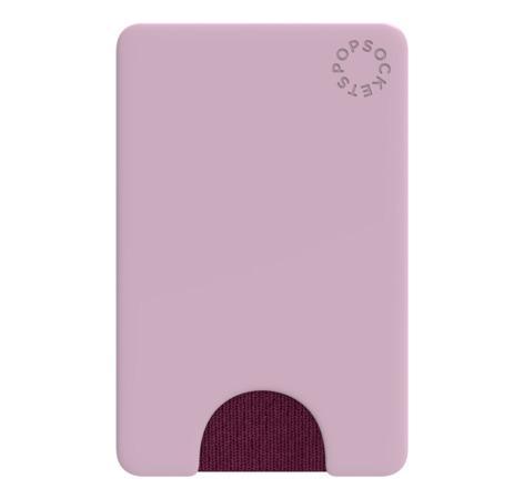 PopSockets PopWallet Blush Pink, pouzdro na mobil na karty/vizitky apod., růžové