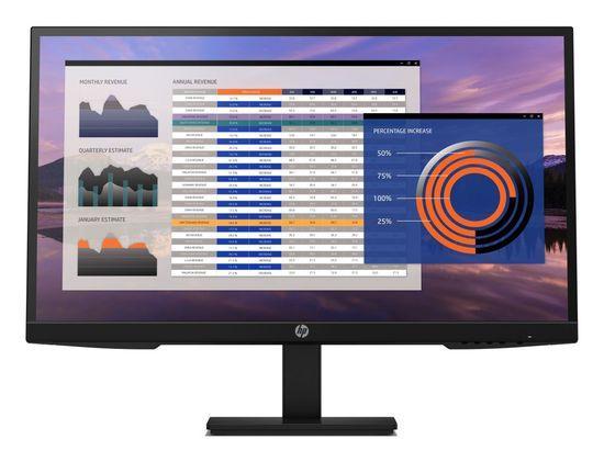 HP Monitor P27h G4, 1920x1080, IPS, 250 cd/m2, 1000:1, 5 ms, VGA, DP, HDMI, 2x2W, 3/3/0, 7VH95AA#ABB