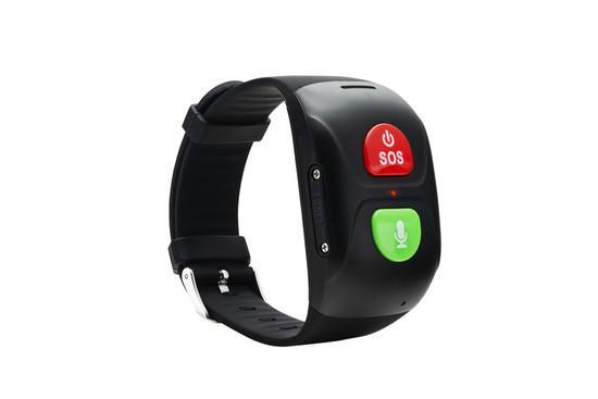 CANYON Chytrý náramek pro seniory s funkcí SOS, telefonu, sledování polohy GPS/LBS/Wi-Fi, hands-free