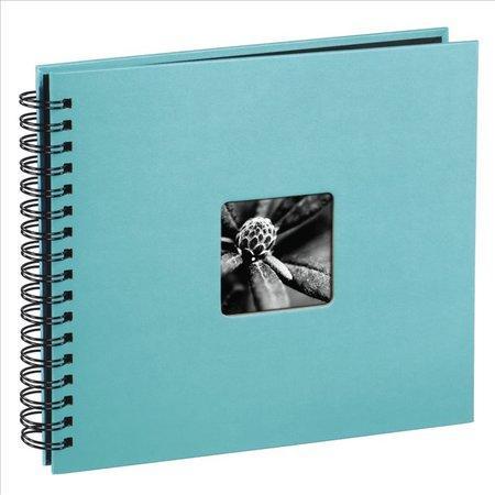 Fotoalbum Hama FINE ART 36x32 cm, 50 stran, tyrkysové, spirálové, lepicí