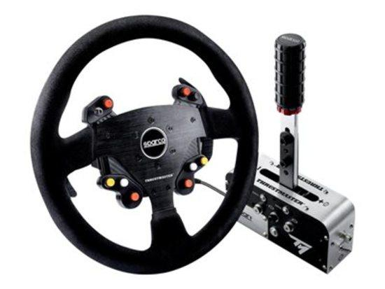 Thrustmaster TM Rally Race Gear Sparco Mod, Volant TM Rally Add-On R383 + řadící páka (4060131)