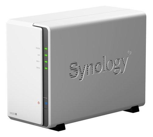 SYNOLOGY DS220J Disc Station datové úložiště (pro 2x HDD, qual core CPU 1.40GHz, 512MB DDR4 RAM, NAS), DS220J