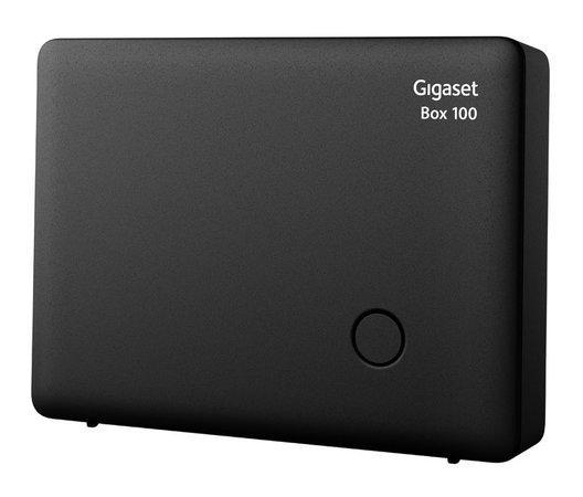 SIEMENS GIGASET BOX100 - DECT/GAP samostatná základna, kompatibilní s řadou C,S,SL, černá, GIGASET-BOX100