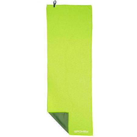 Spokey COOLER Chladící rychleschnoucí ručník 31x84 cm, zelený v plastic bag - klient
