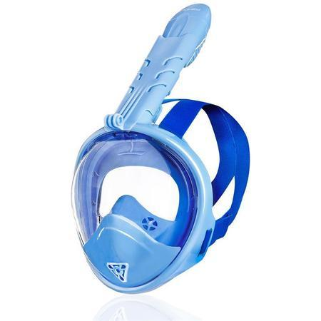 Spokey ZUMI JR Dětská celoobličejová maska - modrá