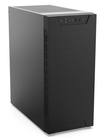 SilentiumPC skříň MidT Armis AR6 / 2x USB 3.0 / 1x 120 mm fan / černá, SPC254