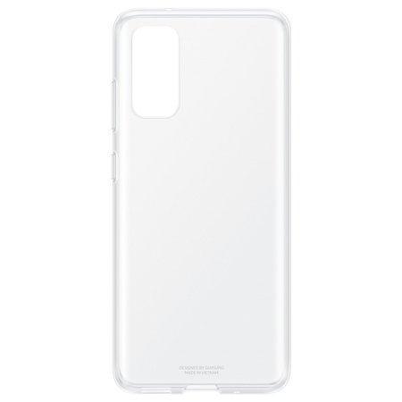 Průhledný zadní kryt Samsung Galaxy S20 Transparent