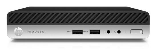 HP PC ProDesk 400G5 DM/i5-9500T/1x8 GB/SSD 256GB/Intel HD/WiFi + BT/bez zdroje/2xDP+USB-C/Win10PRO, 8PG53EA#BCM