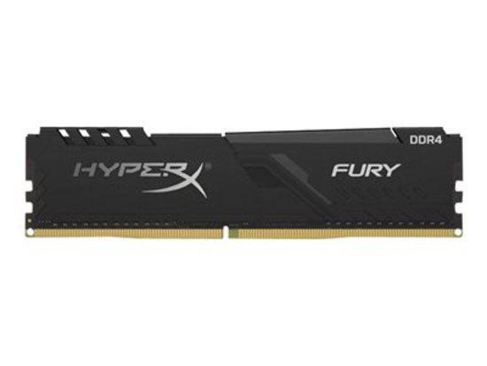 Kingston DDR4 128GB (Kit 4x32GB) HyperX FURY DIMM 3200MHz CL16 černá
