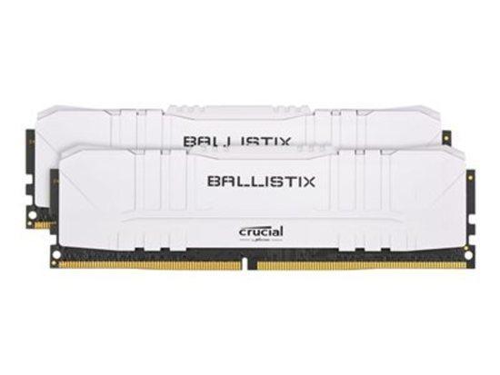 Crucial DDR4 32GB (2x16GB) Ballistix DIMM 2666MHz CL16 bílá