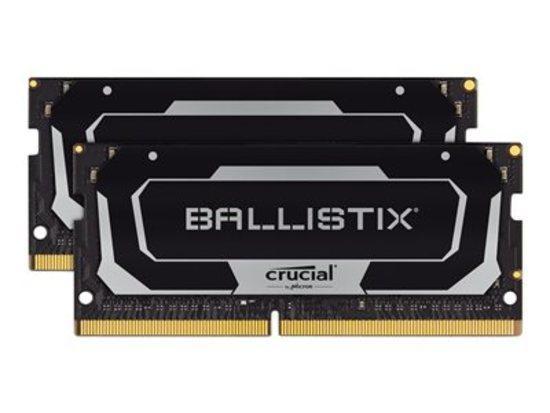 Crucial DDR4 16GB (2x8GB) Ballistix SODIMM 2400MHz CL16 černá