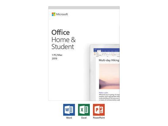 MS Office Home and Student 2019 EuroZone Medialess P6 (PL), 79G-05160