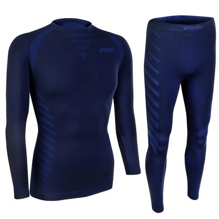 Spokey WINDSTAR Set pánského termoprádla - triko a spodky, vel. L/XL