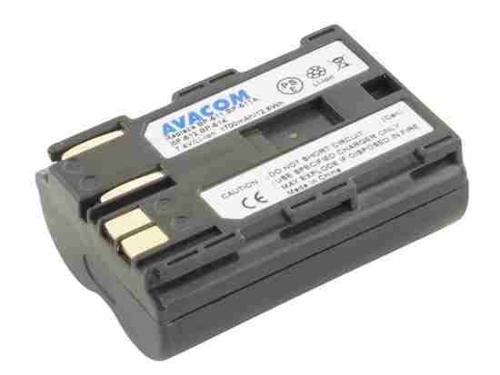 Náhradní baterie AVACOM Canon BP-511/ 512 Li-Ion 7.4V 1700mAh 13Wh tmavě šedá