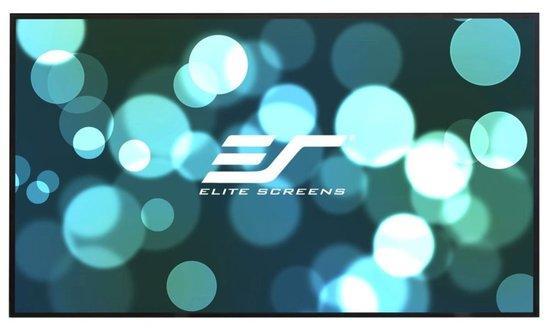 """ELITE SCREENS plátno v pevném rámu 100"""" (254 cm)/ 16:9/ 124,5 x 221,5 cm/ StarBright CLR/ bezrámové/ pro UST projektory"""