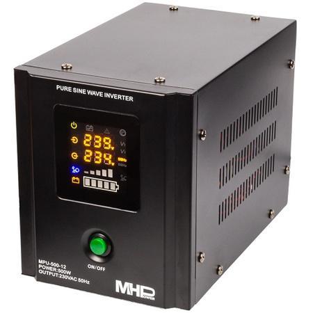 Záložní zdroj MPU-500-12, UPS, 500W, čistý sinus, 12V, MPU-500-12