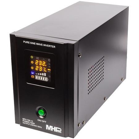 Záložní zdroj MPU-700-12, UPS, 700W, čistý sinus, 12V, MPU-700-12