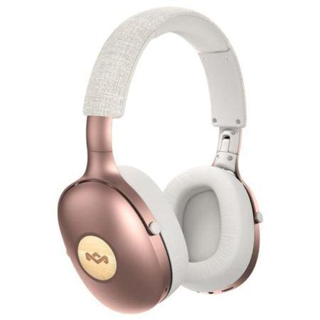 MARLEY Positive Vibration XL Bluetooth® 5.0 - Copper, sluchátka přes hlavu s ovladačem a mikrofonem