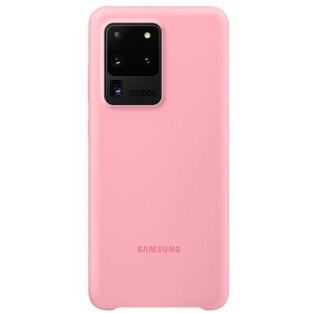 Silikonový zadní kryt Samsung Galaxy S20 Ultra Pink