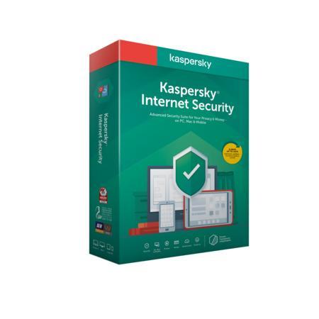 Kaspersky Internet Security 3x 1 rok Nová BOX, KL1939X5CFS-20MSBCEE