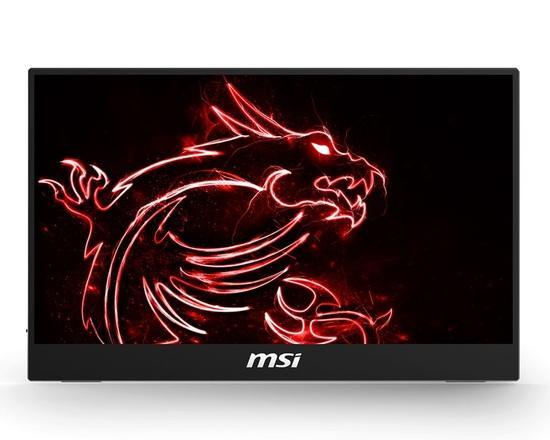 "MSI Gaming monitor přenosný Optix MAG161V USB napájený, 15,6"" /1920 x 1080 FHD/IPS/700:1/180cd / m2 / 2xUSB C/HDMI mini, Optix MAG161V"