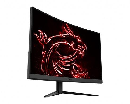 "MSI Gaming monitor Optix G32C4, 31.5"" zakřivený /1920 x 1080 FHD/VA LED, 165Hz/1ms/3000:1/250cd / m2 /2xHDMI/DP, Optix G32C4"
