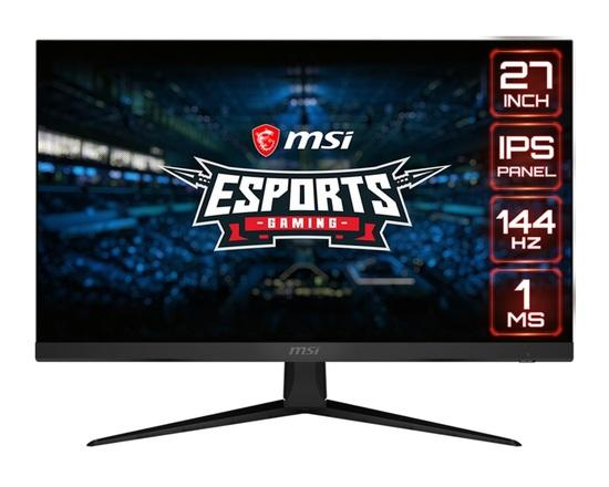 "MSI Gaming monitor Optix G271, 27""/1920 x 1080 (FHD)/IPS, 144Hz/1ms/1000:1/250cd / m2/2x HDMI/DP, Optix G271"