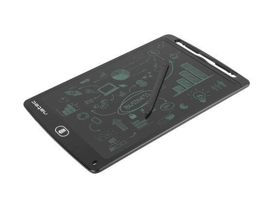 """Natec Snail 10"""" digitální zápisník pro kreslení a psaní, magnetický držák"""