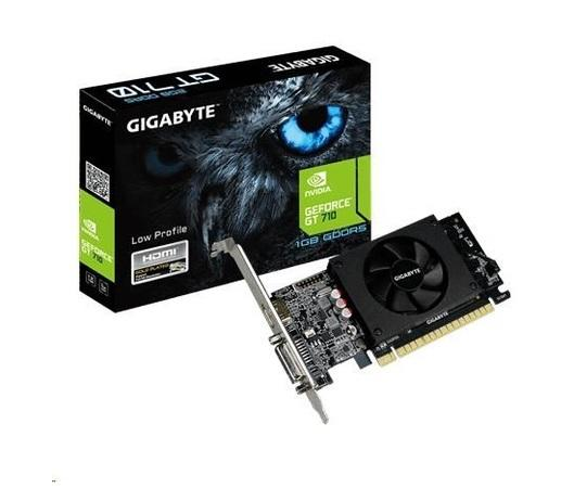 GIGABYTE VGA NVIDIA GT 710 1GB DDR5 Rev. 2, GV-N710D5-1GL 2.0