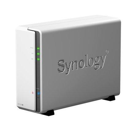 SYNOLOGY DS120J Disc Station datové úložiště (pro 1x HDD, CPU 800MHz, 256MB DDR3L RAM, 1x LAN, NAS), DS120J