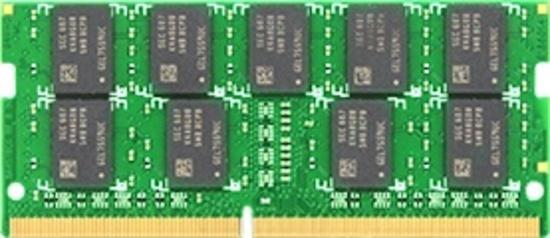 Synology RAM modul 16GB DDR4-2666 unbuffered ECC SO-DIMM 260 pinů 1,2V, D4ECSO-2666-16G