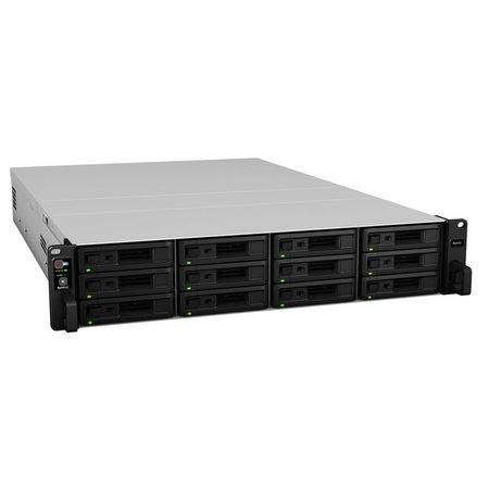 Synology RS2418+ Rack 2U, 12x SATA, 4GB DDR4, 2x USB3.0, 4x Gb LAN, RS2418+