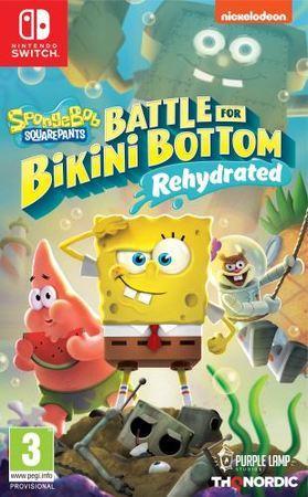 NS - Spongebob SquarePants: Battle for Bikini Bottom - Rehydrated