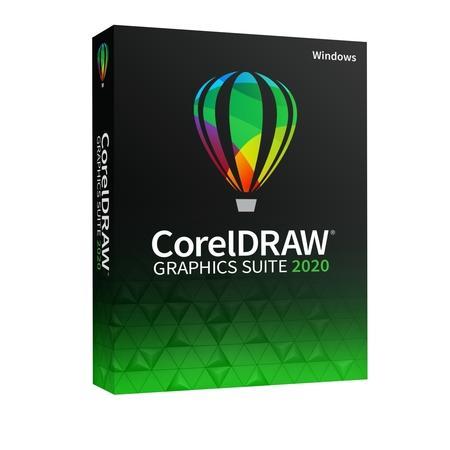 CorelDRAW GS 2020 CZ/PL - BOX