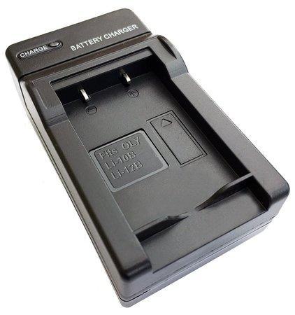 TRX USB Nabíječka baterií pro baterie Olympus Li-10B/ Li-12B/ DB-L10B/ LI-10C/ LI-12C/ Sanyo VAR-L10/ neoriginální