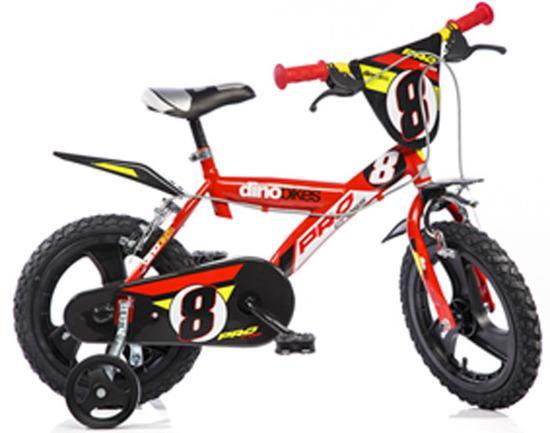 """ACRA Dino 163GLN červená 16"""" 2017 dětské kolo"""
