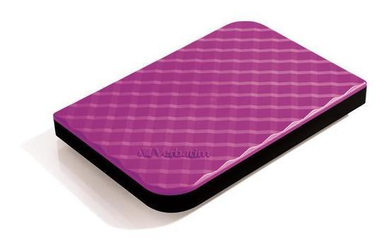 "2,5"" HDD (hard-drive) ""Store `n` Go"", purpurová, 1TB, USB 3.0, VERBATIM, 53212"