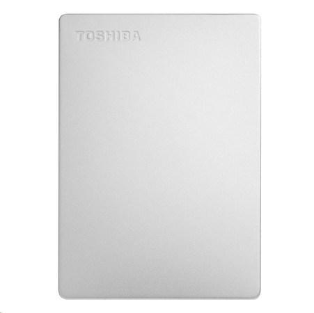 """TOSHIBA HDD CANVIO SLIM 1TB, 2,5"""", USB 3.0, stříbrný, HDTD310ES3DA"""