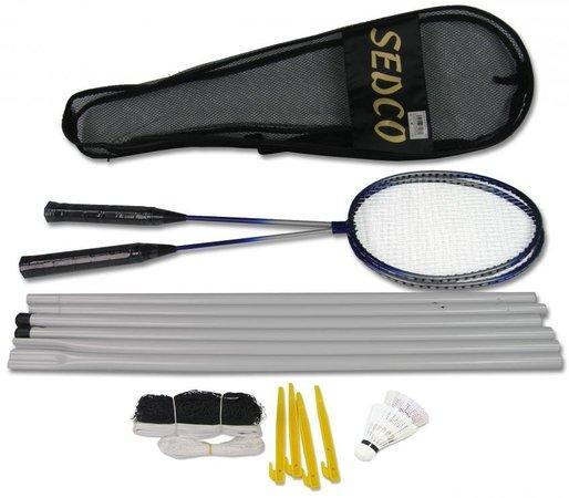SEDCO Badmintonová sada + síť B229