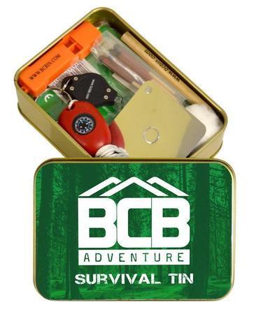 BCB Adventure krabička poslední záchrany Adventure