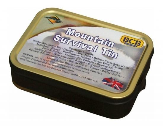 BCB Adventure krabička poslední záchrany Mountain