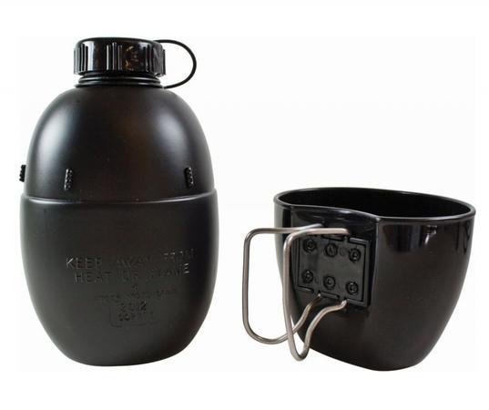 BCB Adventure polní lahev NATO s nádobou na pití