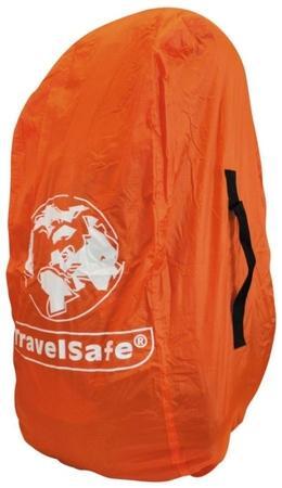 TravelSafe pláštěnka přes batoh Combipack L oranžová