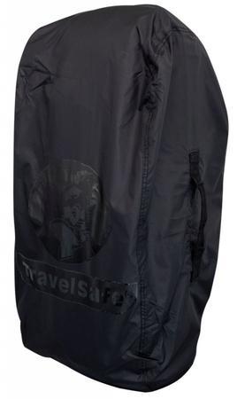 TravelSafe pláštěnka přes batoh Combipack M černá